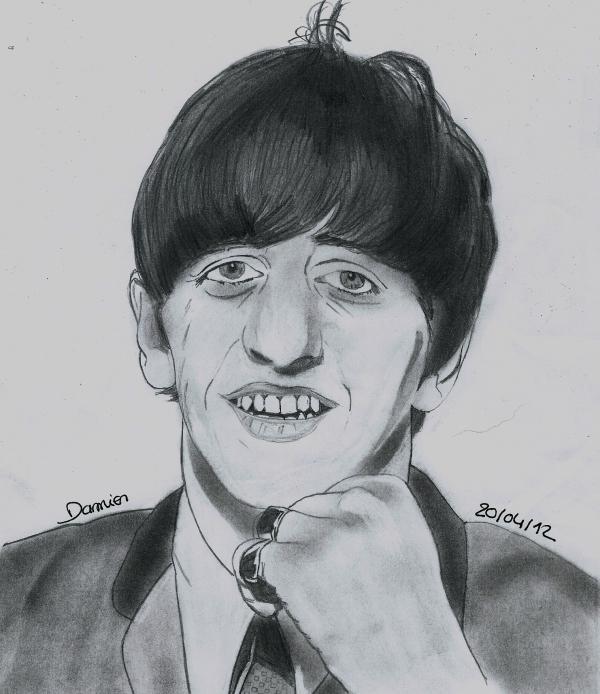 Ringo Starr por gohansaiyen2